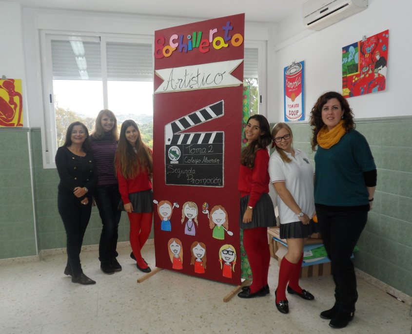 alumnas y profesoras