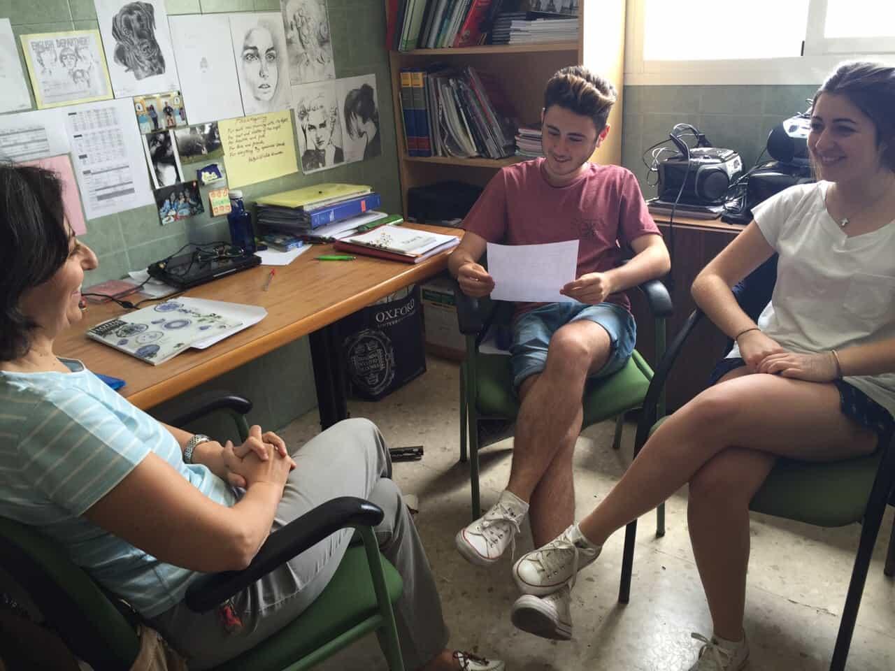 Entrevista a Dña. Encarnación Riego