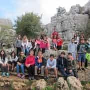 Colegio Alborán de Marbella. Viaje a Fuente de Piedra.